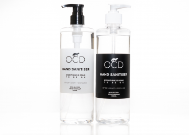 Award-winning Distillery OCD Launch Hand Sanitiser 